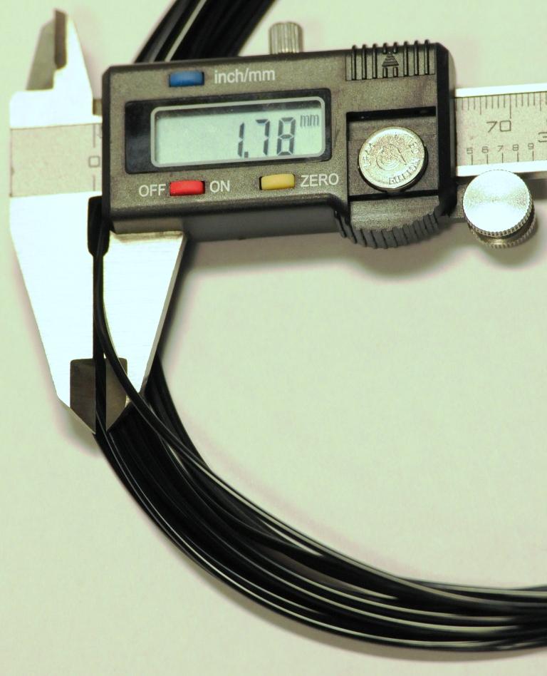 PI-ETPU 95 Carbon Black successful extrusion