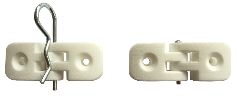 PalmigaH-196-T3-1xM4TS Hinge for Gobond and 3mm panels