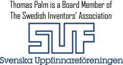Thomas Palm - Palmiga Innovation is a Board Member of The Swedish Inventors' Association