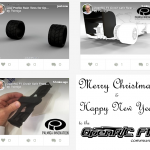 Palmiga Innovation / Rubber3Dprinting.com celebrates Christmas by sharing 3 more designs to the open source OpenR/C Formula 1 project by Daniel Norée.